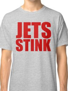 New England Patriots - JETS STINK - RED TEXT Classic T-Shirt