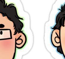 Baby and Big Mork (Sticker Set) Sticker