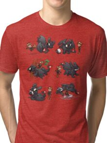 How Not to Train Your Dragon Tri-blend T-Shirt