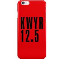 KWYR - Black iPhone Case/Skin