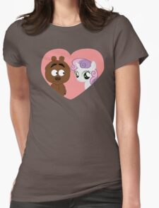 Brickleberry - Malloy in love Womens Fitted T-Shirt