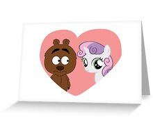 Brickleberry - Malloy in love Greeting Card