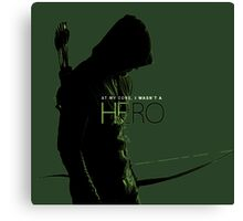 The Green Arrow Canvas Print
