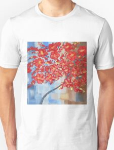 the red tree Unisex T-Shirt