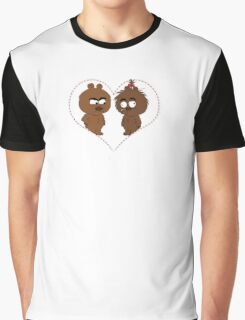 Brickleberry - Malloy in love  Graphic T-Shirt