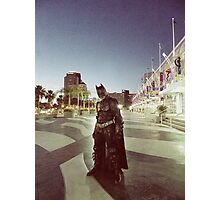 Who is Bruce Wayne Photographic Print