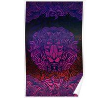 Zen Lion Poster