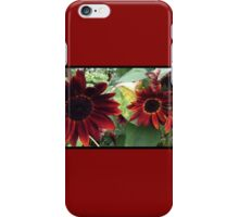 Red Sunflower iPhone Case/Skin