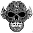 SKULL  Art prints by eyespsyche