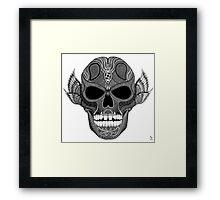 SKULL  Art prints Framed Print