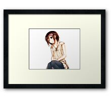 All anime products Framed Print