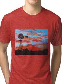 outback sunset Tri-blend T-Shirt