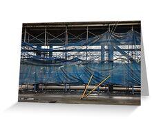 elegant scaffold Greeting Card