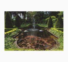 Backyard Oasis Symmetry - Gracious Garden Fountain Baby Tee