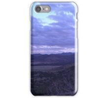 Cloudy West Texas iPhone Case/Skin