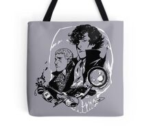 The Detective and the Doctor Tote Bag