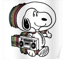 Snoopy Astronout Poster