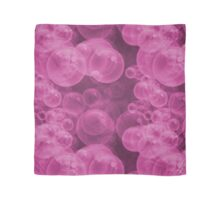 Large Hot Neon Pink Water Air Bubbles Scarf
