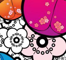Kokeshi dolls Sticker