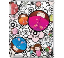 Kokeshi dolls iPad Case/Skin
