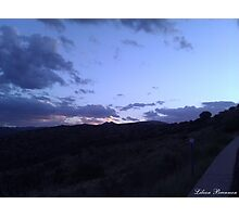 West Texas Just After Sunset Photographic Print