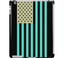 USA flag inverted color iPad Case/Skin
