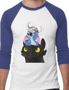Stitch Viking Style Men's Baseball ¾ T-Shirt