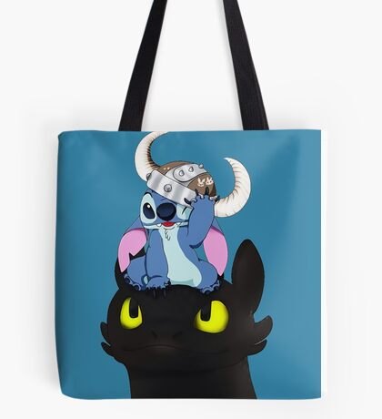 Stitch Viking Style Tote Bag