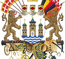 Greater Coat of Arms of Copenhagen  by abbeyz71