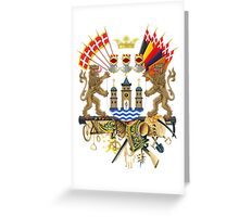 Greater Coat of Arms of Copenhagen  Greeting Card