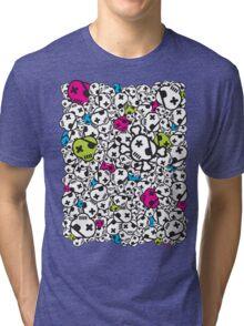 Funky Skulls Tri-blend T-Shirt