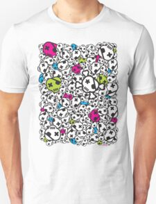Funky Skulls Unisex T-Shirt