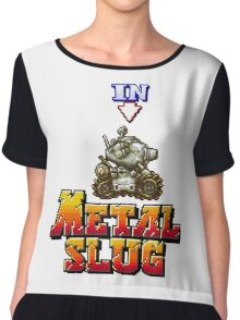 metal slug Chiffon Top