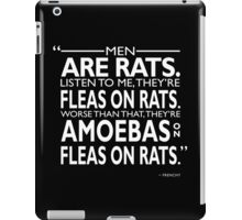 Grease - Men Are Rats iPad Case/Skin