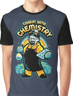Walter White Cooking Graphic T-Shirt