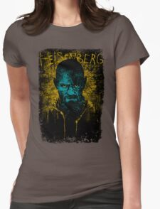 Heisenberg Graffiti Womens Fitted T-Shirt