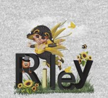 Sunflower - Kids Tshirt Art with Custom Name One Piece - Long Sleeve