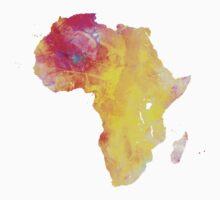 Africa map One Piece - Short Sleeve