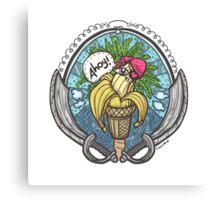 Banana Pirate! 2 Canvas Print