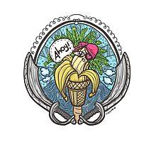 Banana Pirate! 2 Photographic Print