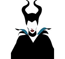 Maleficent Minimalism Photographic Print