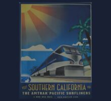 Vintage poster - Southern California Baby Tee