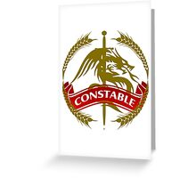 The Constable Coat-of-Arms Greeting Card