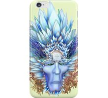 red indian mask iPhone Case/Skin