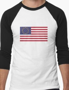 USA Euro Men's Baseball ¾ T-Shirt