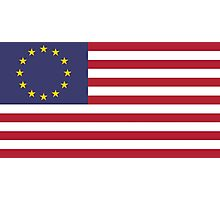 USA Euro Photographic Print