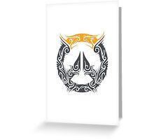 Overwatch - Center Logo Art Greeting Card