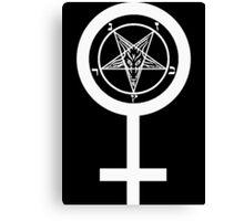 Devils Daughter Canvas Print