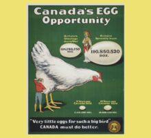 Vintage poster - Canada's Egg Opportunity One Piece - Short Sleeve