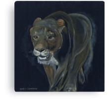Lion female Canvas Print